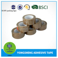 Bopp tan color packing tape jumbo roll
