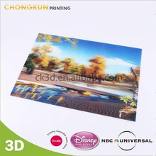 Custom 3D Beautiful Picture Scenery For Wall Hanging