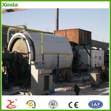 Waste tire pyrolysis plant to fuel oil machine to india /thailand/ Vietnam/myanmar With SGS Air Report