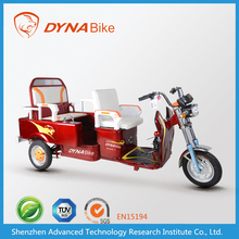 "48v 500w ""DYNABike"" brand colorful 3 wheel scooter for passengers"