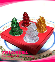 Top Quality Christmas Tree Scented Candle For Shower Favor