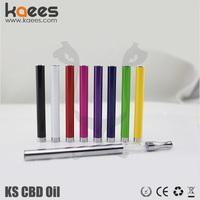 KAEES Glass Oil Extraction Tube, KS CBD Oil Vape Pen, 0.4mm Wickless Disposable Ecig For CBD Oil