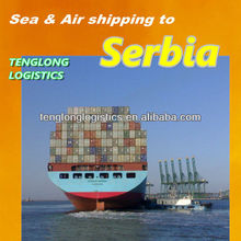 ocean cargo transportes to Belgrade of Serbia from Shenzhen Shanghai Hangzhou