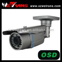 WETRANS TR-SR725EFH Outdoor 4-9mm Varifocal 700tvl CCTV Waterproof IR Bullet Camera