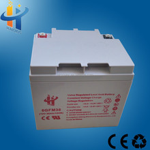 Durable Battery 38ah 12v Rechargeable Valve Regulated Lead Acid Battery
