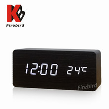 Best selling big LED display alarm clock useful electrical gift for old man