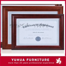 Cheap Wholesale Document Certificate Wood Picture Photo Frame