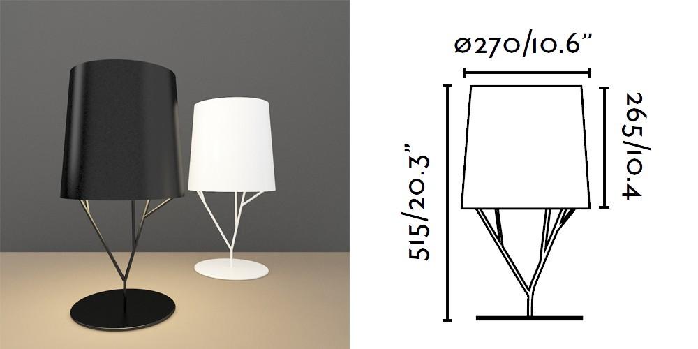 Un arbre conception noir lampe de table ikea lave lampes - Lampe a lave ikea ...