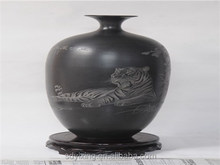 Shandong non-material culture of longshan black pottery handicraft , The graven tiger