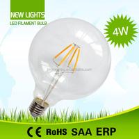 Hot sale low price G125 2W led light bulb parts high quality 360 degree led filament bulb parts