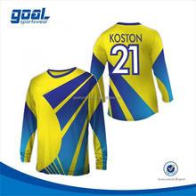 Boa qualidade durável 2015 criar uniformes de futebol