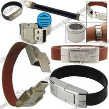 Excellent design bracelet usb stick 16gb 32gb usb flash drive