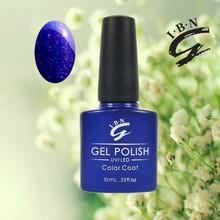 Fast shipping MSDS approved uv/led polish gel, nail gel polish wholesale
