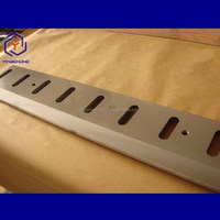 hot sale Inlay tungsten carbide Guillotine shear knife made in qingdao