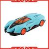 Metal type racing car model toy pull back car