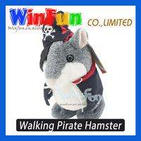 Kids Novelty Gifts Talking Toys Walking Pirate X Hamster Wholesales Price