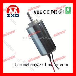 45mm permanent magnet high torque 24 volt dc motor for massager