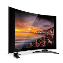 """17 """" LCD TV,with front curved glass , Guangzhou factory"""