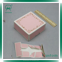 Foldable small cake box foldable shopping box foldable paper box