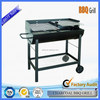 Good quality removable tailgate party barrel metal barbeque