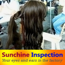 wigs/ hairpieces/ periwigs/ professional quality control/ inspection services in China