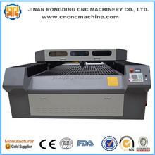 Tecido, Pano máquina de corte a laser com rotating tabela RDJ-1325