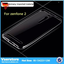 2015 new trendy products outside glossy inside matte TPU Gel Case For Asus Zenfone 2 phone cover