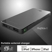 6500mAh Alluminium Housing Power Bank, Noble touch External Battery Charger