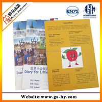 A5 size full color printing custom printed diary