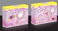 Diy foams mirror toys kids diy toys mosaic mirror innovative toys for children