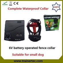 portable smart inground DF-112 dogs electric fence