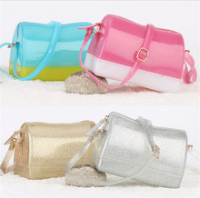 Candy Color Jelly Shoulder Bag For Women Silicon Beach Bag