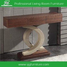 French Style Modern Wood Console Table Indoor Furniture