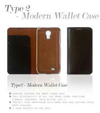 Genuine leather Saffiano Modern Wallet Case