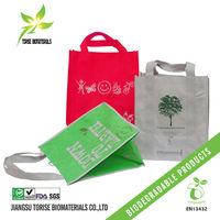 Non woven biodegradable storage bags