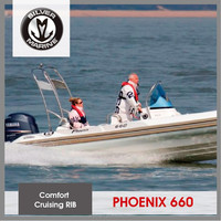 Silver Marine rib hypalon inflatable sport boat (Phoenix 660 6.6M)