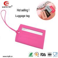 2014 good market luggage tag wholesale DongGuan supplier