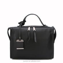 Real leather ladies handbag/shoulder bag manufacturers alibaba express bags women