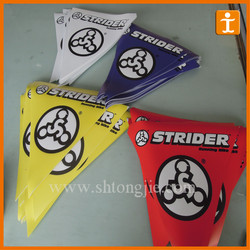 Party decoration Fabric soccer pennants