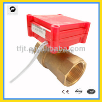 2-way Mini electric valve lower voltage 3-6V,12V for water treatment project and syetem