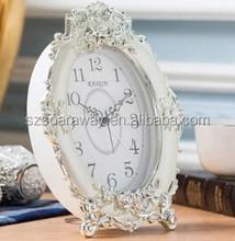 Oval desktop home decor digital prayer time alarm clock
