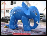 PVC cartoon inflatable elephant model / inflatable elephant characters