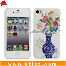 Beautiful skin case with rubber oil coating for iphone 4