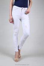 Top Faux Capri gris clair plissée femmes Casual coton pantalons de travail
