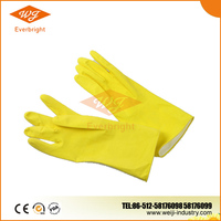 Rubber Hand Gloves, Long Sleeve or Short Sleeve, Single Color or Double Color or with Lace Cuff