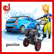 150bar 6.5HP gasoline water jet power car washers, car wash in china