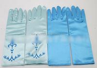 2015 Girls Dress Gloves Kids Frozen Gloves Elsa Anna Cinderella Accessories Princess Party Costumes