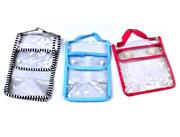 High quality custom made cosmetic vinyl plastic bags for bottles pvc bag