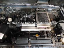 JDM USED ENGINE & ECU HALF CUT FRONT CLIP FOR PAJERO 4M40 4D56 TURBO