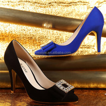 Italy design women shoes online selling high heel evening dress shoes